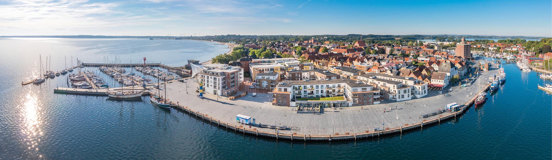 Hafenspitze Eckernforde Eckernforder Bucht